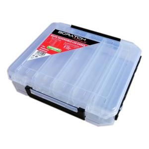 Boite Réversible Scratch Tackle 10 cases 20x17x5cm