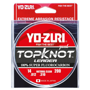 Fluoro Topknot Leader - Clear - 27m