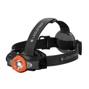 Lampe Frontale Mh11 - Noire Et Orange
