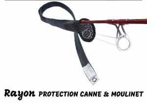 rayon protection canne et moulinet