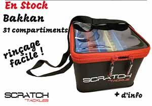 bakkan 31 compartiment - sac de rinçage Scratch tackle